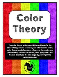 color theory lesson for painting with notes worksheets trivia