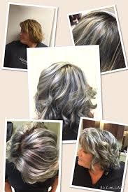 grey hair 2015 highlight ideas blue grey hair with highlights lynzzy t hair pinterest