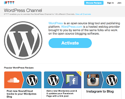 automate wordpress with ifttt u2014 sitepoint