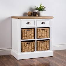 Kitchen Cabinets Halifax Ksp Halifax Shelf Unit With 4 Baskets White Natural Kitchen
