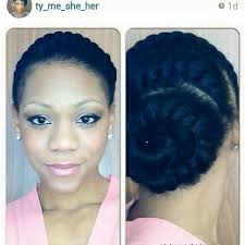 updo transitional natural hairstyles for the african american woman 2015 goddess braids goddess braid twisted hair pinterest