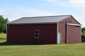 Burgundy Metal Roof Pictures by Hardy Rib Metal Roofing Panels Mid Michigan Metal Sales