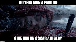 Leo Oscar Meme - give leo a break imgflip