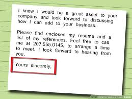 How To Prepare A Resume For Job Interview 5 Ways To Write A Cover Letter Wikihow