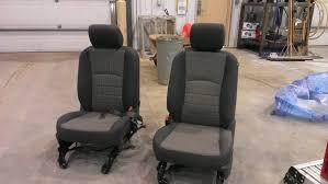 Dodge Ram Cummins 1500 - how to 4th gen seats in your 3rd gen pics dodge cummins