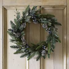rosemary u0026 pinecone christmas wreath trees wreaths u0026 garlands