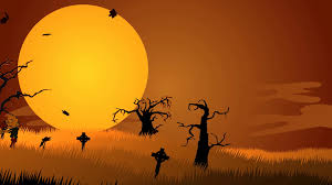 zombie walking at spooky graveyard halloween scary funny stock