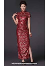 wedding dress maroon plus size burgundy lace cheongsam bridal wedding dress