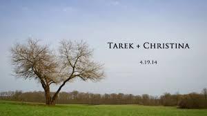 tarek christina tarek u0026 christina wedding film on vimeo