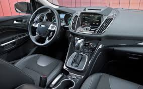 Ford Escape Upgrades - 2013 ford escape titanium vs subaru forester xt truck trend