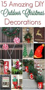 Christmas Outdoor Decor by Diy Christmas Outdoor Decorations Www Mrskathyking Com