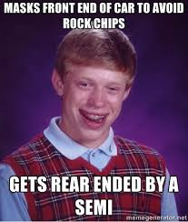 Ford Owner Memes - ford focus st owner seriously does not want any rock chips