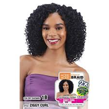 model model crochet hair model model glance braid 2x wand curl crochet braid ziggy curl