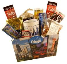 chicago gift baskets chicago deluxe food gift basket other products