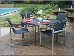 metal patio table and chairs sears patio outdoor table set with umbrella patio lawn furniture
