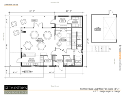 common house floor plans house common house plans