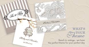 theme invitations wedding invitations by theme