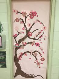 Cherry Decorations For Home by Spring Classroom Door Japanese Cherry Blossom Tree Classroom