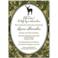 Camouflage Wedding Invitations Amazon Com Baby Shower Invitations Boy Camo Camouflage