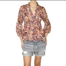 dvf blouse 88 diane furstenberg tops dvf zazu multicolored blouse