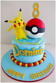 pokemon kids birthday cake in sydney uniquely designed by