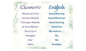 simple chamorro greetings stripes guam