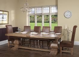 Dining Room Sets Uk Windermere Rustic Oak Extending Monastery Dining Table Oak