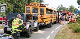 2 children injured in eastham bus crash necn