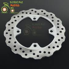 rear brake disc rotor for kawasaki zx6r zx6rr zx 600 er 6n er650
