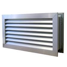 Interior Door Vent Grill Haron 635 X 185mm Aluminium Door Relief Vent Warehouse Doors