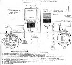 internal regulator alternator wiring diagram wiring wiring