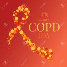 copd ribbon copd day ribbon poster stock photo picture and royalty free image