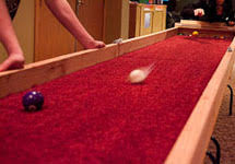 indoor carpet ball table carpetball org the official homepage of the national carpetball