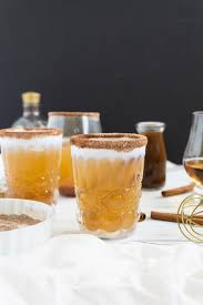 delicious punch cocktail recipe pumpkin bourbon glitter inc