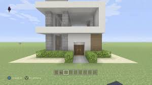 minecraft small modern house tutorial xbox one 360