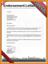 Certification Letter Of Endorsement Sample 7 Endorsement Letter Sample Guarantee Letter