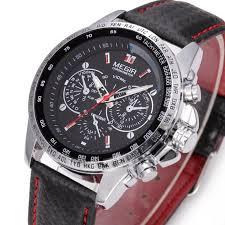 bracelet homme montre images Megir montre bracelet homme quartz classique cuir analogique jpg