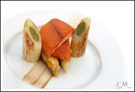 cuisine truite truite de mer sauvage laquée en cuisson faible temp et grosses