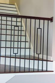What Is A Banister On Stairs by This Staircase Uses High Quality Wrought Iron Balusters To Create