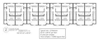 Multi Unit Floor Plans Multi Family Apartment Plans Home U0026 Interior Design