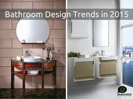 100 bathroom design trends 5 new bathroom design trends