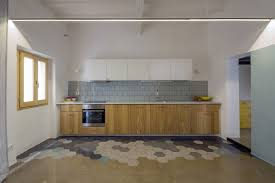 kitchen floor tile ideas pictures dynamic floor design blending colorful hexagonal tiles and