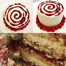 minute white chocolate raspberry birthday cake wife