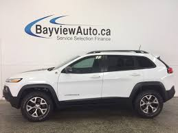 trailhawk jeep 2017 jeep cherokee trailhawk 4wd for sale in canada cargurus