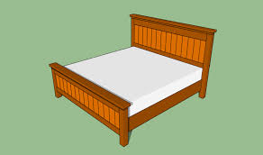How To Build A King Size Platform Bed With Drawers by Bed Frames Bed Plans Woodworking How To Build A Full Size Bed