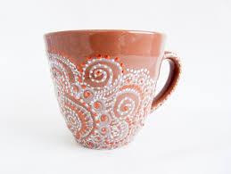 coffee mug painting