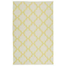 Yellow And White Outdoor Rug Coastal Yellow Outdoor Rugs Rugs The Home Depot