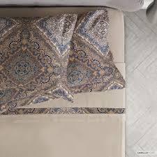 joaquim pure cotton bed sheet set carillo home