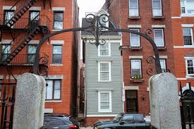 narrowest house in boston the north end s skinny house is for sale boston magazine
