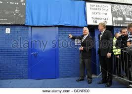 Top Balcony Goodison Park by Bill Kenwright Cbe Everton Football Club Chairman Goodison Park